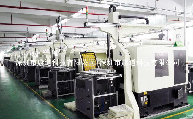 数控机床自动上下料机械手,机加工自动化生产线