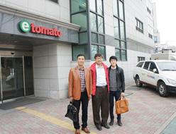 康道智能股份企业相册:韩国客户合影