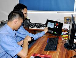 康道智能股份企业相册:数控系统模拟测试
