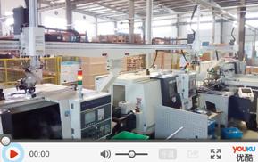 四联机数控车床机械手应用于【汽车零配件】自动上下料加工