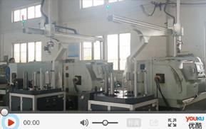 数控机床机械手_紧固套自动化生产线案例