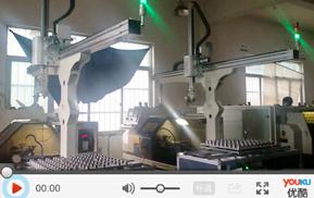 单机数控机床机械手应用于液压管阀接头机加工自动化生产线