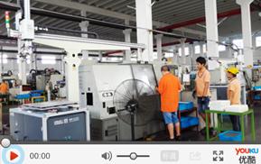 应用于铜件取料的单机数控机床机械手视频案例