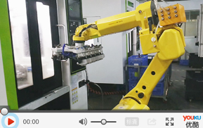 CNC上下料机械手/6轴机器人视频案例