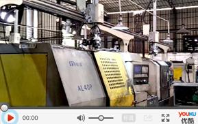 双联机机床机器人应用于压缩机轴承加工自动化生产线