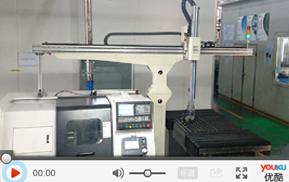 单机版桁架机器人/机加工自动化生产线案例