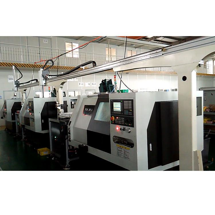 数控车床多联机自动化生产线,3联机机加工自动化