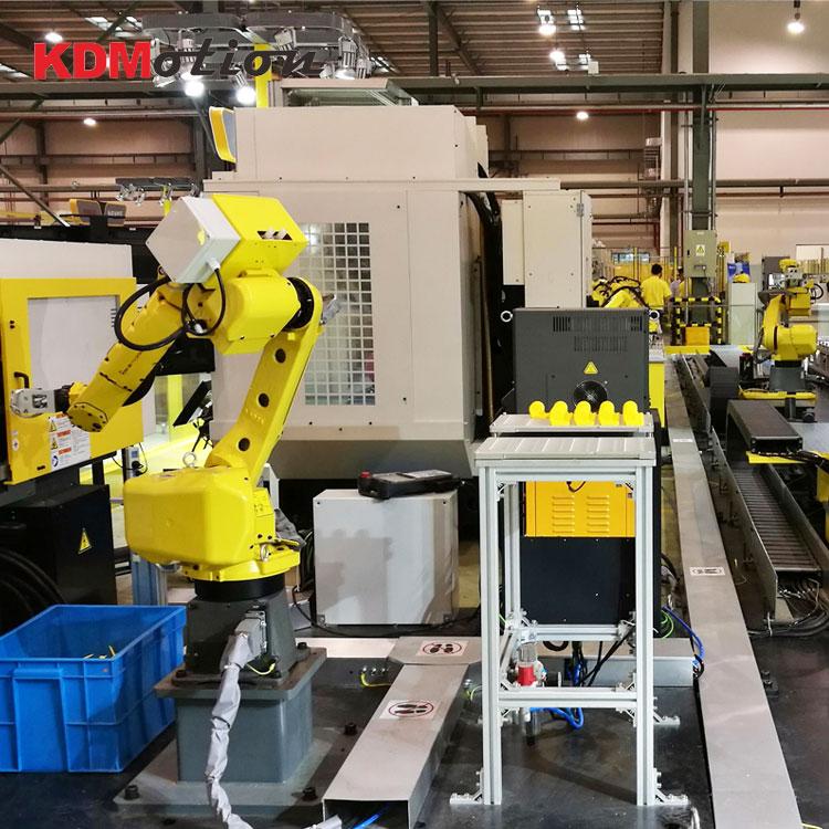 数控机床上下料机器人--6轴