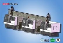数控车床多联机自动化生产线-数控车床多联机机械手
