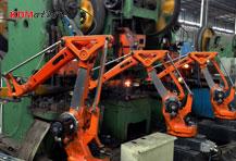 四轴冲压自动上下料机器人