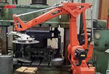 冲压机器人,4轴冲压自动化