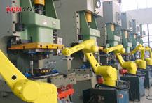 6轴冲床机器人,冲压自动化生产线
