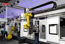 6轴机器人数控机加工自动化