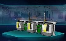 数控机床多联机机械手,机床自动上下料机器人